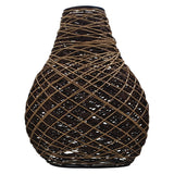 Decorative Modern Woven Rattan Pendant Lamp Cage Lighting Shade