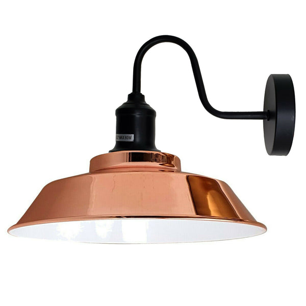 Rose Gold Retro Vintage Style Wall Lights Sconce Lamp Fitting Kit