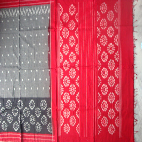 Cotton Sarees - Pochampally Ikat Style - IP_SA_010