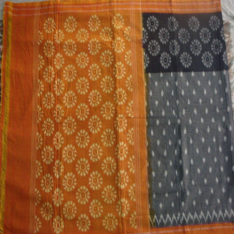 Cotton Saree - Pochampally Ikat Style - IP_SA_006