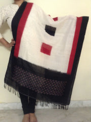 Ikkat Cotton Dupatta-IP_DU_055