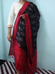 Ikkat Cotton Dupatta-IP_DU_052