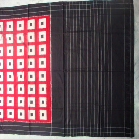 Ikat Puttapaka Cotton Saree - IP_SA_012