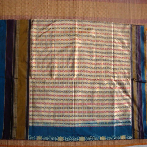Ikat Silk Saree - IP_SSA_003