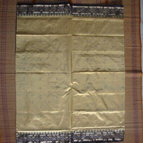 Ikat Silk Saree - IP_SSA_005