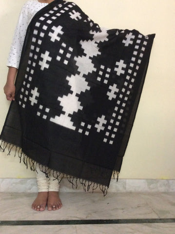 Ikkat Cotton Dupatta-IP_DU_050