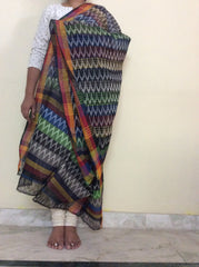 Ikkat Cotton Dupatta-IP_DU_061