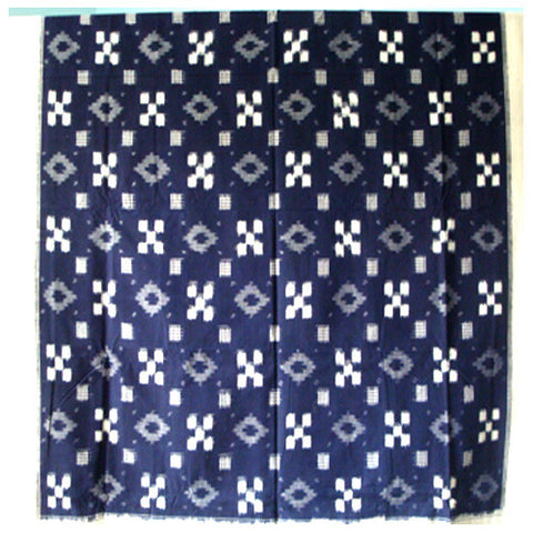 Navy Blue Single Cot Bed Spread - IP_BS_006