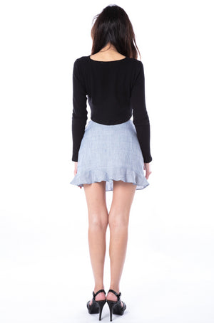 Paloma Knit Top in Black