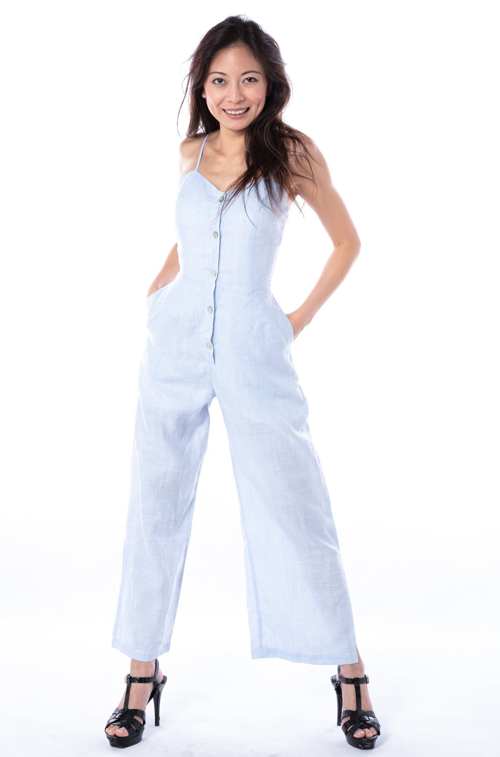 Dia Jumpsuit in Sky