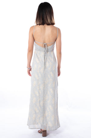 Wisteria Maxi Dress in Teal