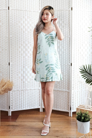 Amelia Cami Dress in Mint