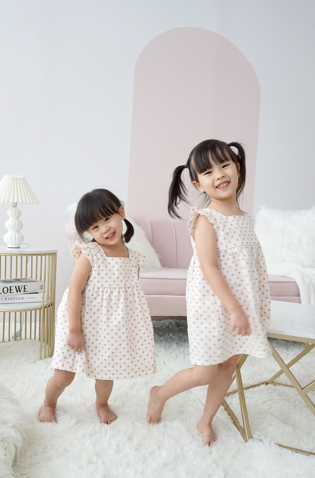 Laura Babydoll Dress for Girls
