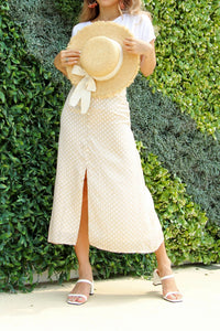 Diana Straw Hat in Cream