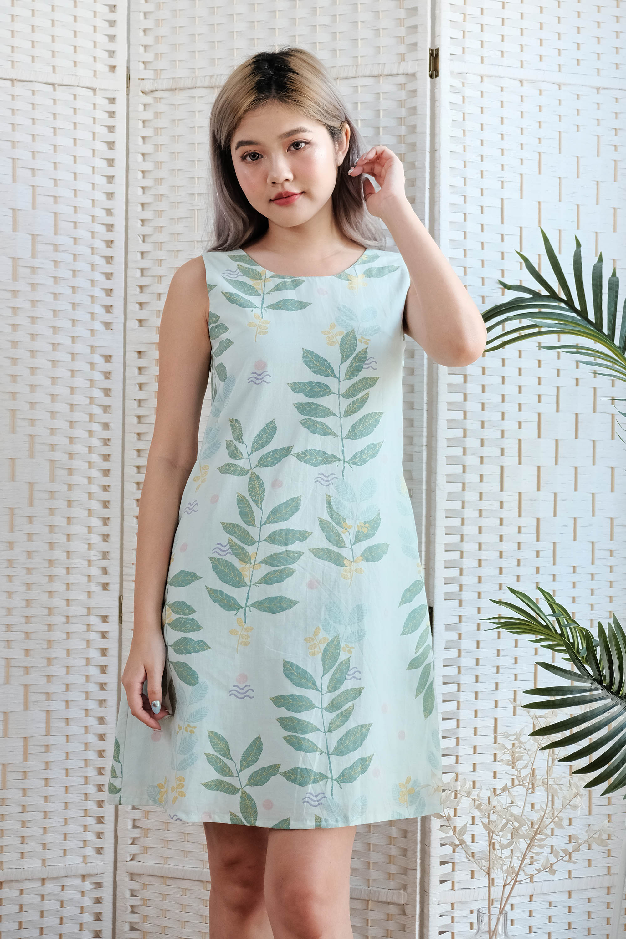 Ellie Shift Dress in Mint