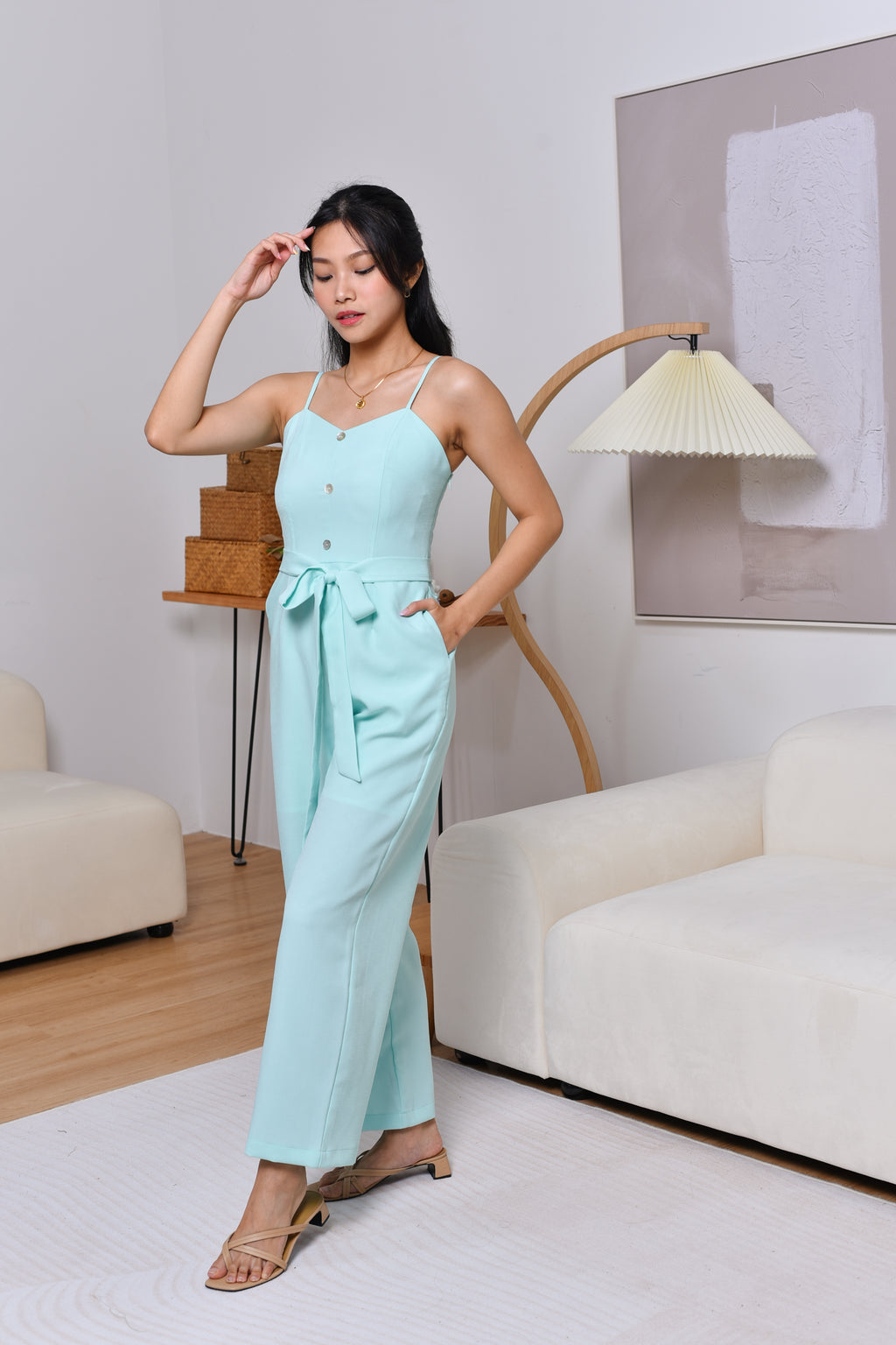 Popsicle Jumpsuit in Mint
