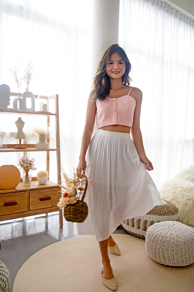 Eye Candy Crop Top in Pink