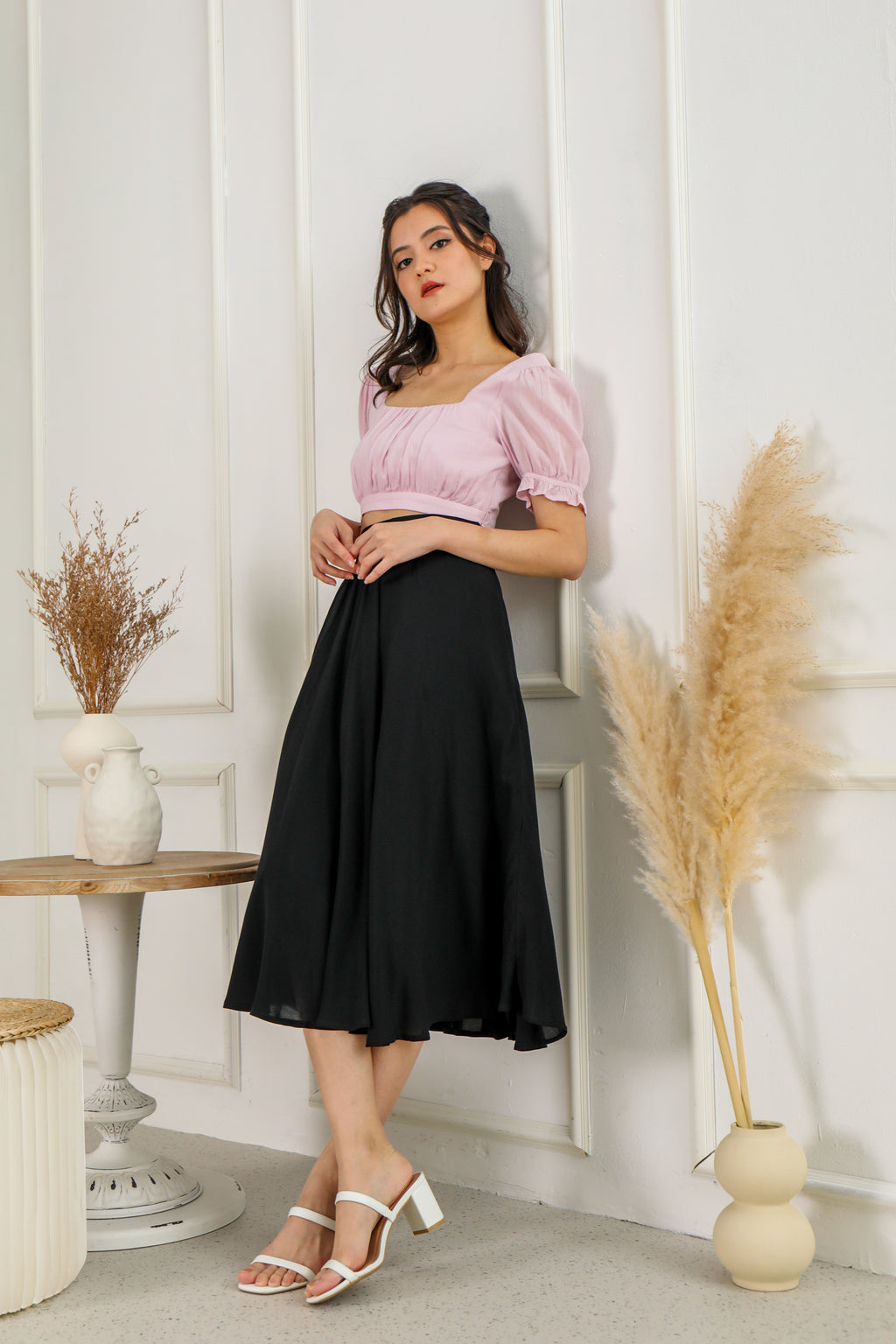 Siena Skirt in Black
