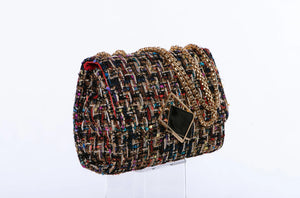 Madison Tweed Handbag in Rainbow (Backorder)