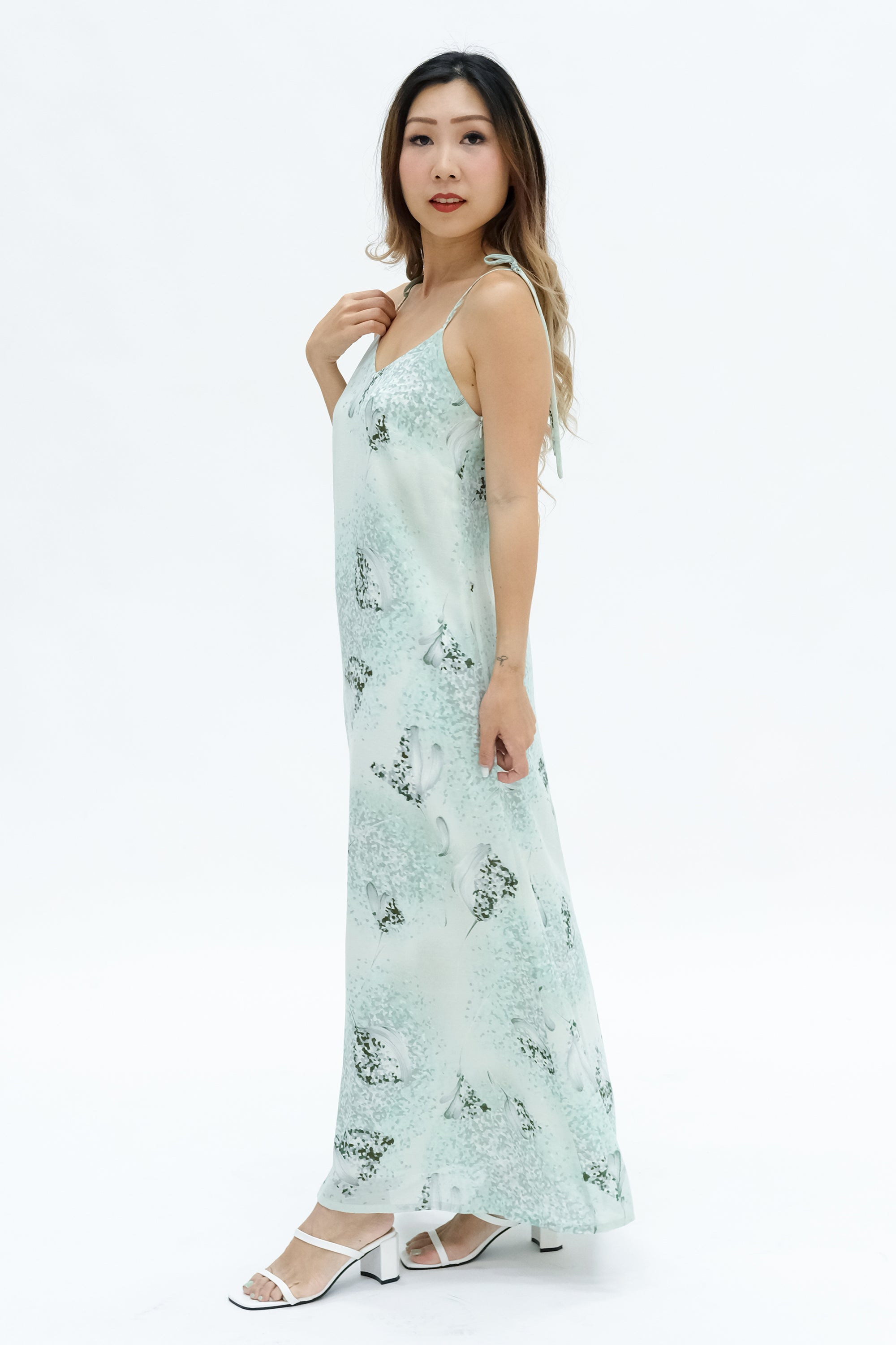 Pixel Pixie Maxi Dress