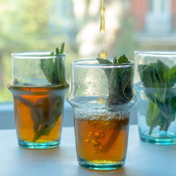 Moroccan mint tea. Easy, simple & sweet guide for a daily treat.