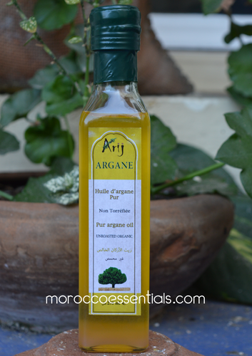 Pure Argan Oil Arij (25 OZ/ 750ml) - MoroccanOil for Hair, Skin, Nails - Natural Beauty Oil Lotions