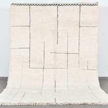Load image into Gallery viewer, Badis Wool Rug - 8 x 5' - Beni Ouarain Authentic Handmade