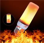 Hot Sale!!50% OFF-LED Flame PC Cover Torch Light