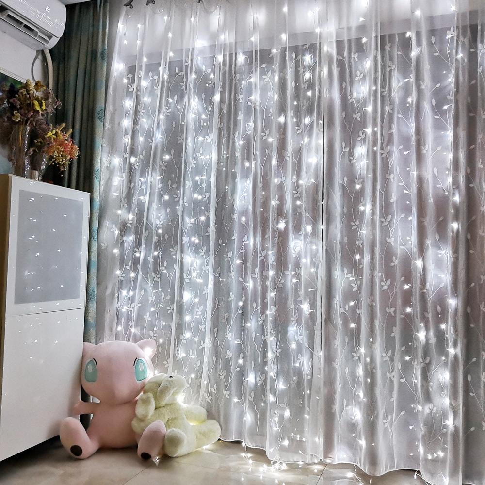Garland LED Curtain Icicle String Light