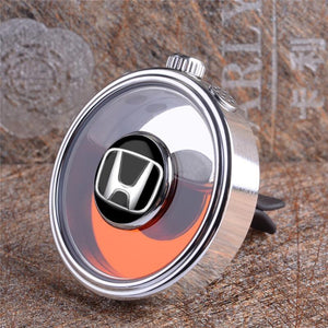 Heater vent mount perfume bottle auto diffuser DIY Logo On