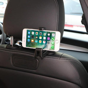 Hot sale!!!Car Hooks Car Seat Back Hooks with Phone Holder