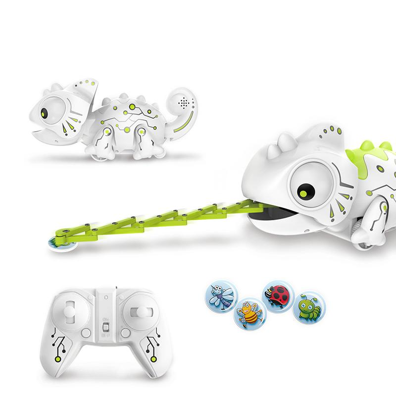 Blesiya Children Kids Electric Remote Control Toys Intelligent Chameleon Boys Gift