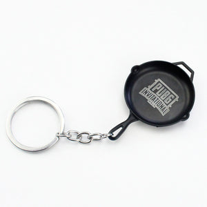 8:1 PUBG model Alloy keychain pendant