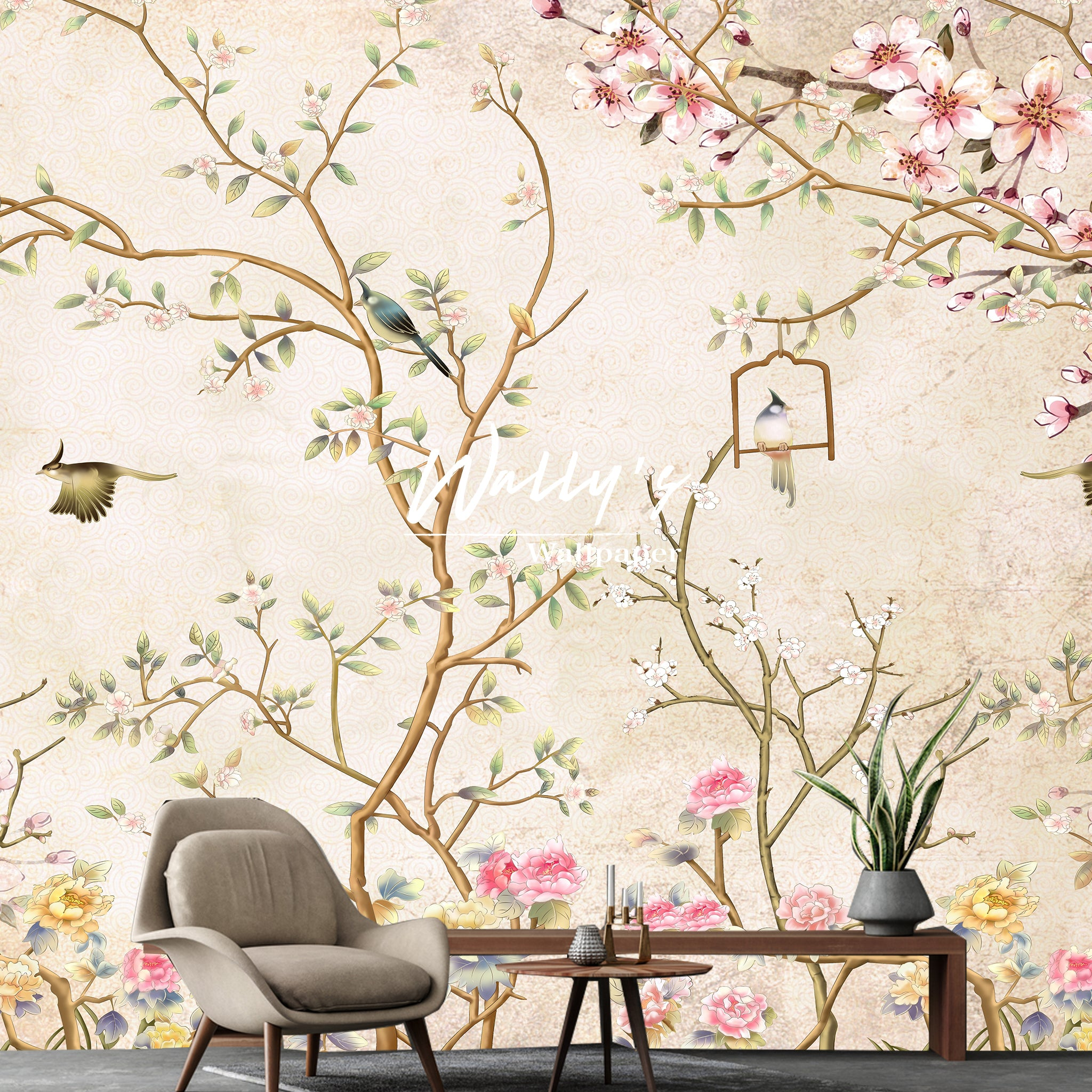 Blooming Chinoiserie