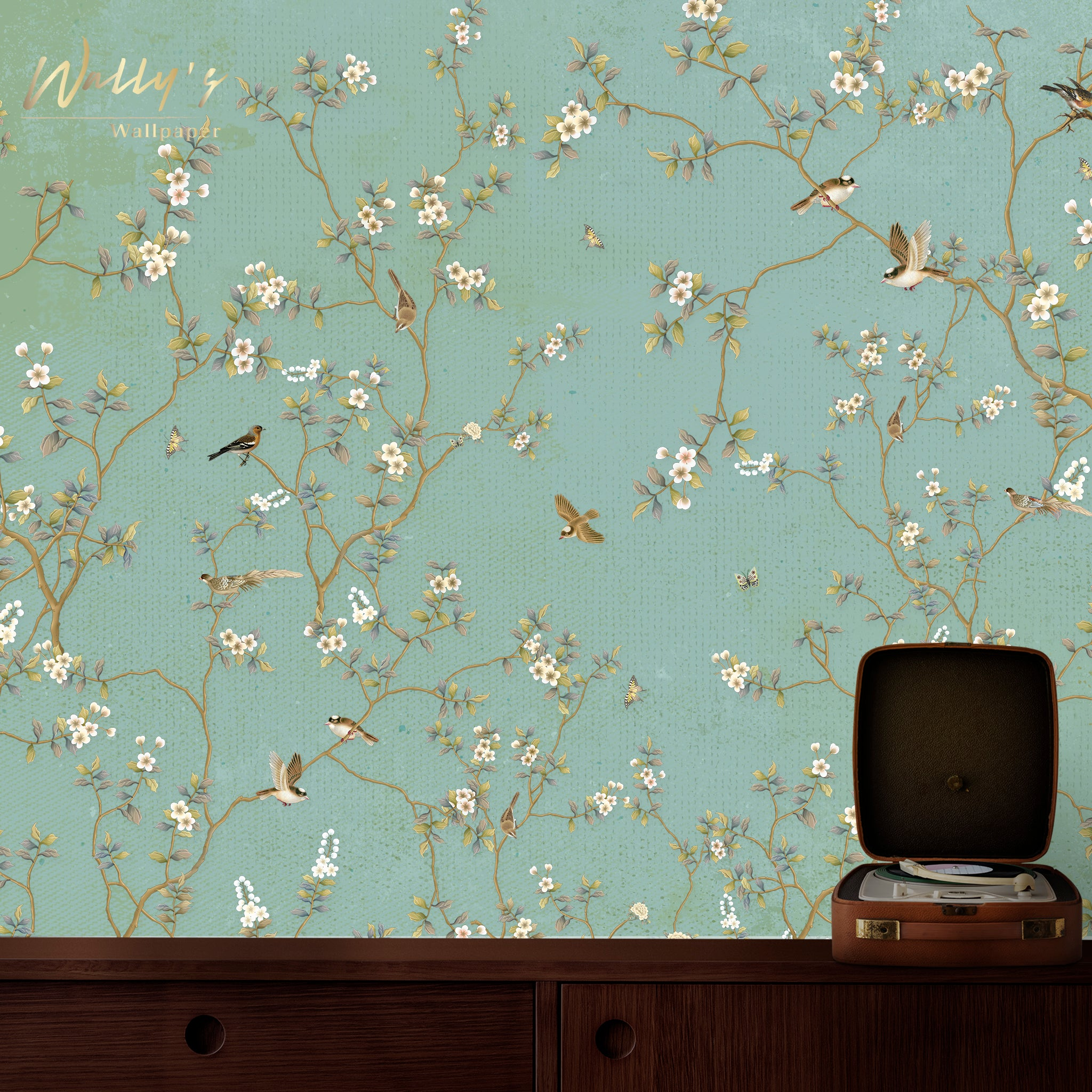 Chinoiserie theme