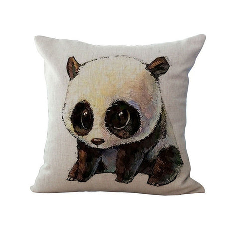 Cushion Funny Panda Nordic on Sofa Car Bedroom Chair Pillow - Pandarling