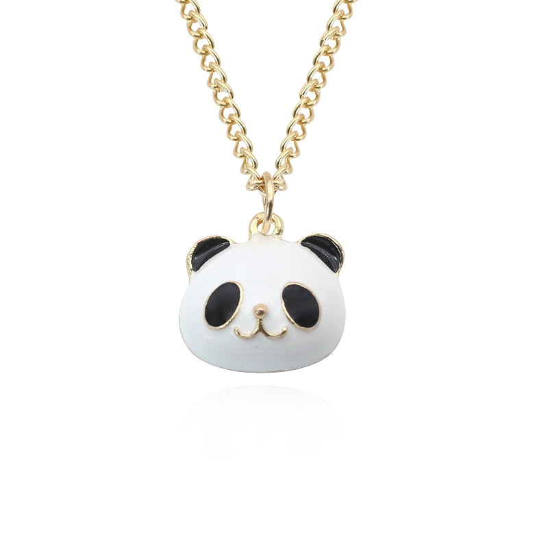 Panda Penddants&Necklaces Stainless Steel Chains - Pandarling