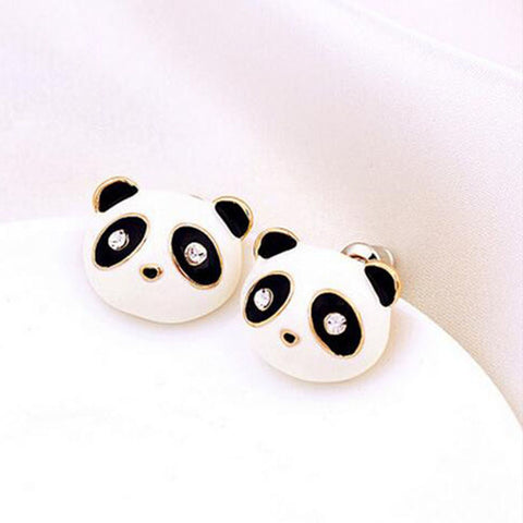 Lovely Delicate Panda Stud Earring - Pandarling