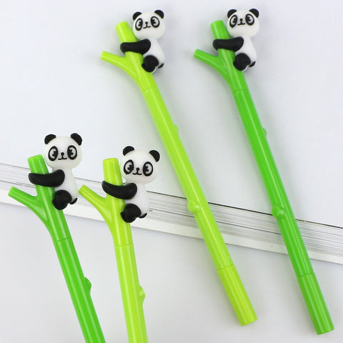 1 Pcs Cartoon panda bamboo Neutral pen - Pandarling