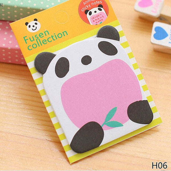 1Piece Cat Panda Notepad Stationery Papeleria - Pandarling