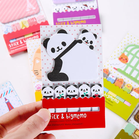 Animal Panda Sticky Notes bookmarks - Pandarling