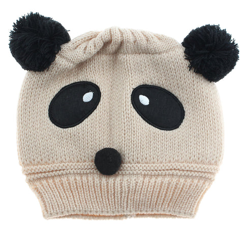 Fashion Winter Knitted Newborn Baby Hat Panda Cap - Pandarling