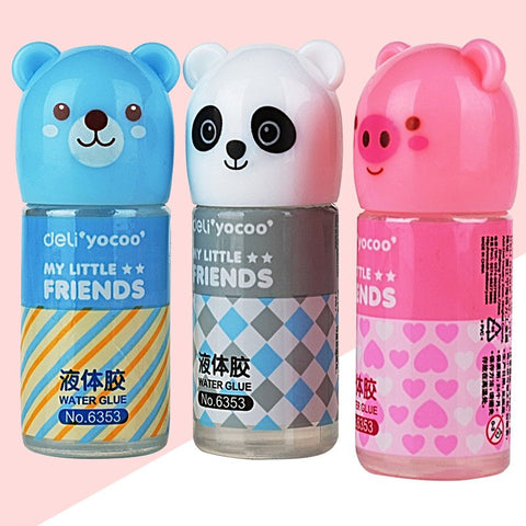 35ml Cute Bear Panda Plastic Liquid Glue - Pandarling