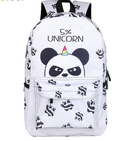 Panda Backpack for Teenager Travel Bags - Pandarling