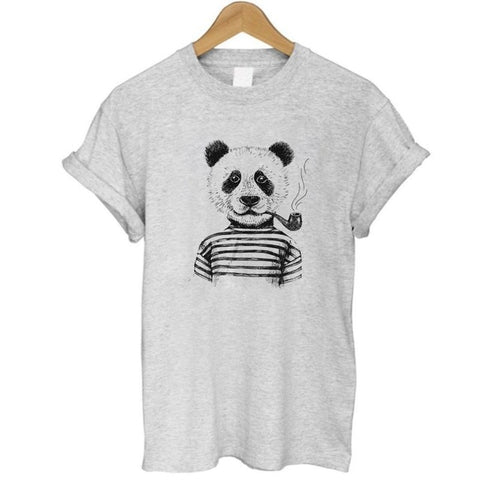 panda printed women T-shirt - Pandarling
