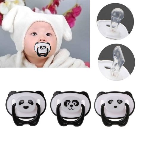 Panda Nipple Dummy Pacifier Food Grade PP Silicone - Pandarling