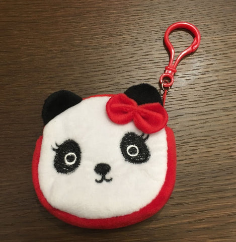 Mini Key Hook Panda BAG Coin Purse & Wallet - Pandarling