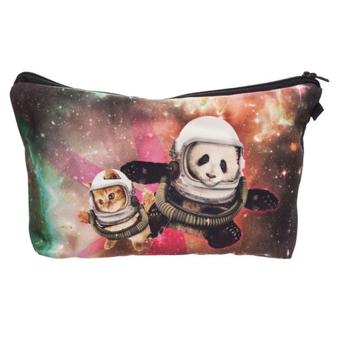 Makeup Bags Galaxy panda - Pandarling