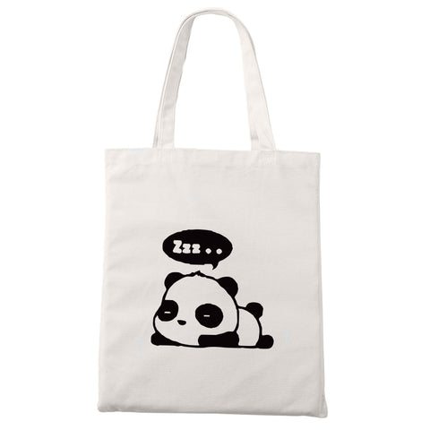 Cute Panda Canvas Bag - Pandarling