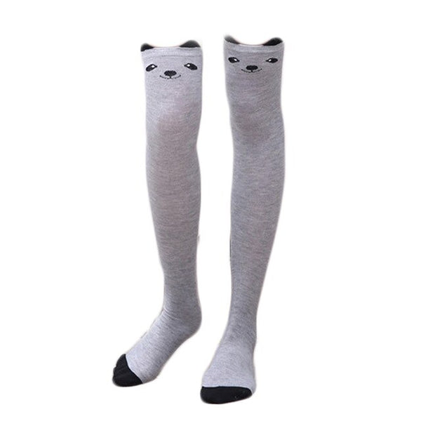 Cats Bear Panda Warm Long Socks Warm Socks - Pandarling